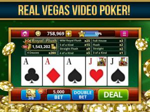 real vegas video poker